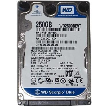 Bảo Hành 6 tháng. Ổ cứng HDD Laptop cũ, Ko Bad 40G 80G 100G 120G 160G 250G 320G 500G ở Gò Vấp. - 16