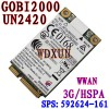 Card WWAN 3G HP Elitebook 8540W