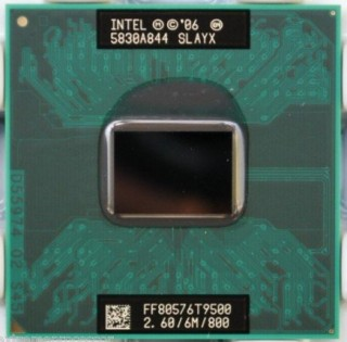 CPU T9500 2.6Ghz, 6MB cache L2