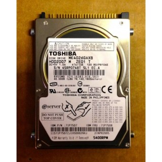 HDD ATA 40GB Laptop