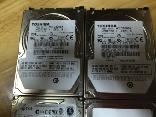 HDD Laptop 100GB Cũ