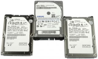 HDD Laptop 250GB 7200 RPM Cũ