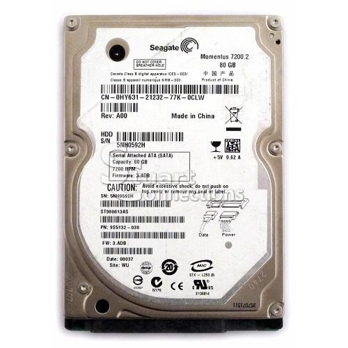 HDD Laptop Seagate 80G 7200RPM Cũ