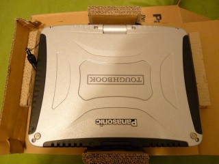 Toughbook CF-19 MK5 I5-2540M|8G|SSD 250GB|10in