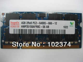 Ram laptop DDR2 4GB - Bus 800 Mhz - PC2 6400