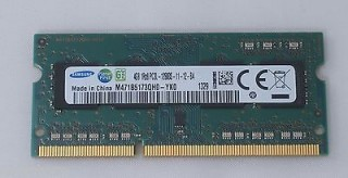 Ram Laptop DDR3L 4GB Samsung bus 1600