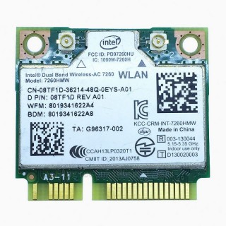 Thay Card Wifi Laptop AC 7260 867Mb/s Dell M4800 M6800