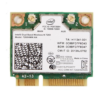 Thay Card Wifi Laptop Intel Dual Band Wireless-N 7260