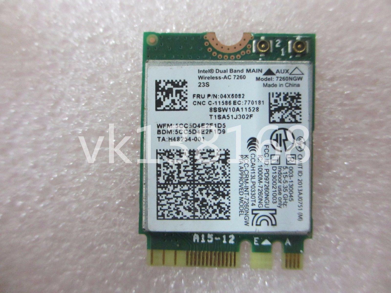 Thay Card Wifi Laptop Intel Wireless-AC 7260 T440 X240